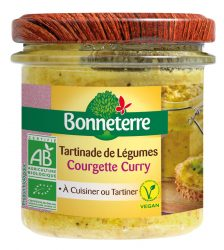 Tartinade de Légumes – Courgette Curry - Bonneterre