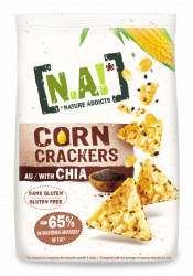 Corn Crackers Chia - Solinest