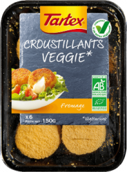 Croustillants au fromage veggie