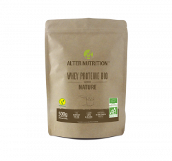 Whey protéine nature bio - Alter Nutrition