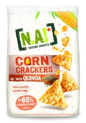 Corn Crackers Quinoa - Solinest