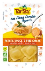 Pâtes fraiches farcies patate douce & pois chiche